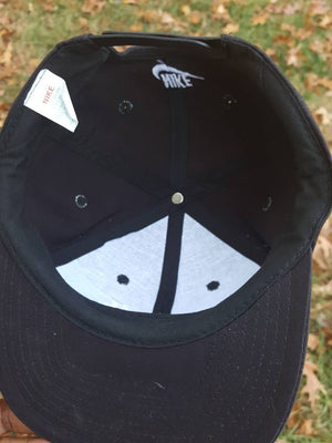 Vintage Just Do it Nike spell out hat Virginia Cavaliers swoosh cap white tag OG Rare