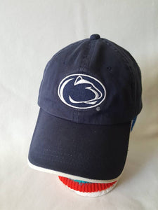 Vintage Penn State Dad hat strapback unstructured college football basketball