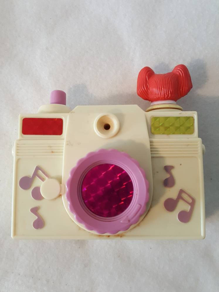 Vtg 80s  Cabbage patch kids wind up  Camera illco Works with sound 1984