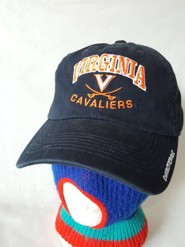 Vtg Virginia Cavaliers  Dad hat  UVA University Charlottesville College Football Basketball