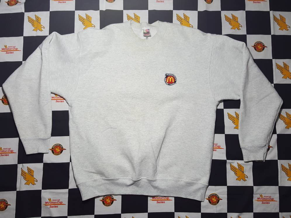 VTg McDonalds Racing Bill Elliott crewneck Sweatshirt as xxl  Nascar Winston Cup