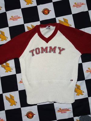 Vintage Tommy Girl Sweater Size Medium Womens
