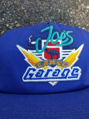 Vtg Joe's Garage Camel Cigarettes  snapback Smooth Character hat cap Tobacco Smokers Dope