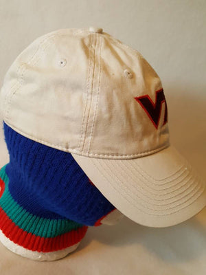 Vintage Virginia Tech Hokies  90s The Game dad hat cap Virginia University College Football