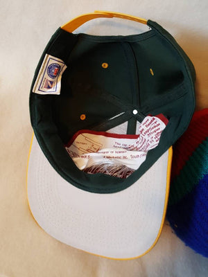 Vtg Green Bay Packers Logo 7 snapback hat Pro Line  cap Favre Rodgers