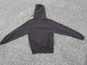 Vtg Champion Full zip black Hoodie Size Med