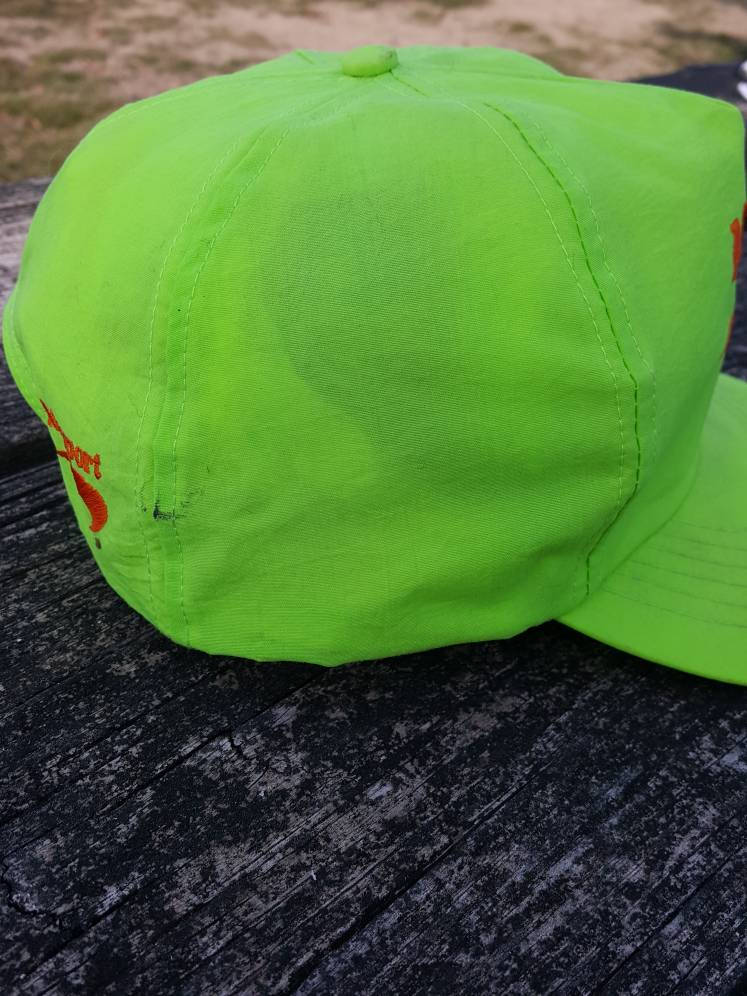 Vintage Newport Cigarettes Neon Highlighter cap Tobacco  Smokers  Hipster