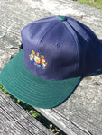 Vtg IZOD Adjustable snapback Lacoste Polo Preppy cap