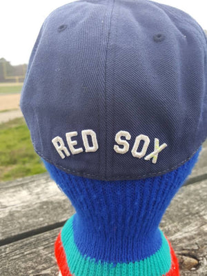 Vtg Boston Red Sox Big B Fitted 7 1/2 American Needle  hat Cooperstown Collection cap