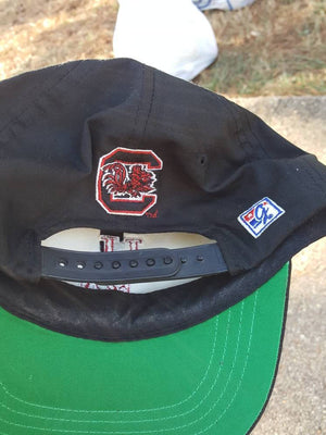 Vintage The Game South Carolina Gamecocks black snapback hat cap NCAA University USC
