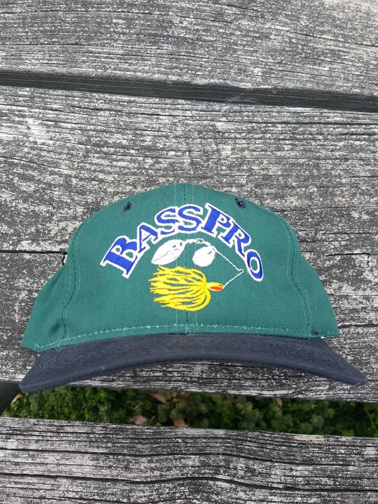 vtg Bass Pro snapback  hat youngan cap  made in Costa Rica