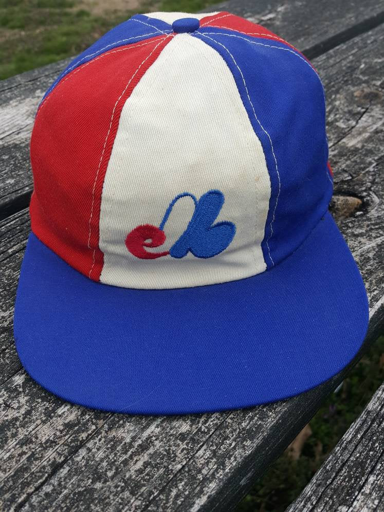 Vtg Montreal Expos fitted sz large made in usa union