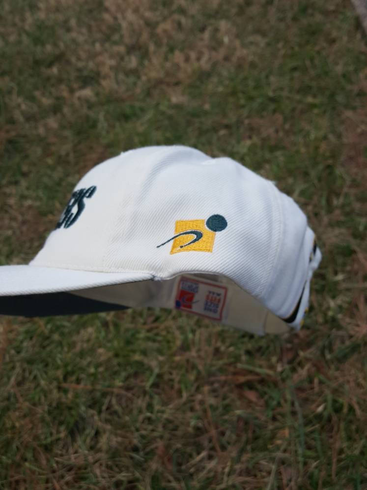 Vtg Sports Specialties Green Bay Packers dad hat cap Retro Football 90s