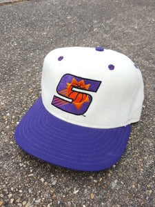 Vtg  Phoenix Suns Fitted 7 3/8 New Era 59 50 hat cap NBA