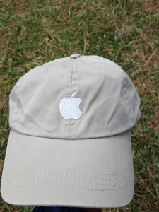 Vtg Apple Mac strapback Dad hat  cap 90s tech computer Macintosh