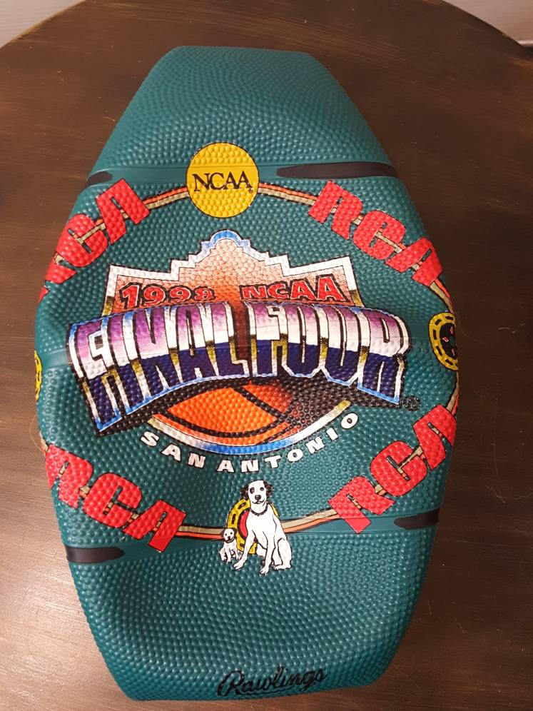 Vtg Rawlings 1998 Final Four March Madness ball  College basketball San Antonio
