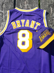 new product 60971 609bf Los Angeles Lakers Retro Kobe Bryant #8 Adidas Jersey Med ...