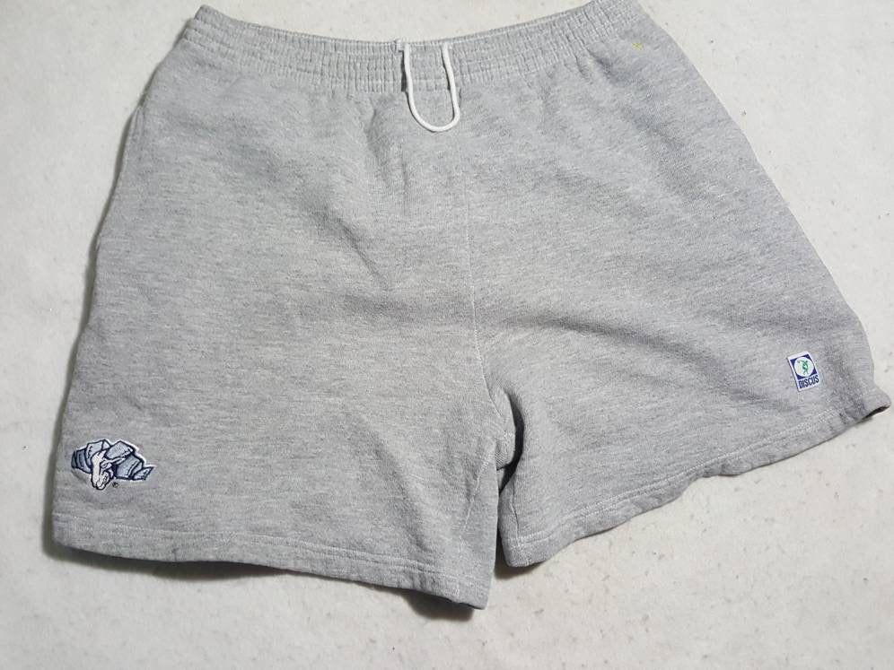 Vintage Carolina Tar heels Discus  Sweat Shorts Sz Large