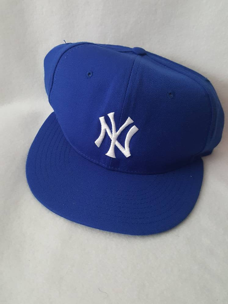Vtg New York Yankees new era Fitted Cap sz 6 7/8  hat
