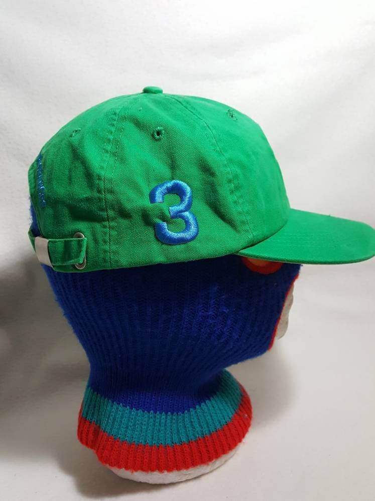 Vtg Ralph Lauren Fragrances  3 strapback dad hat Polo RL Big Pony ... ba8a9764cb01