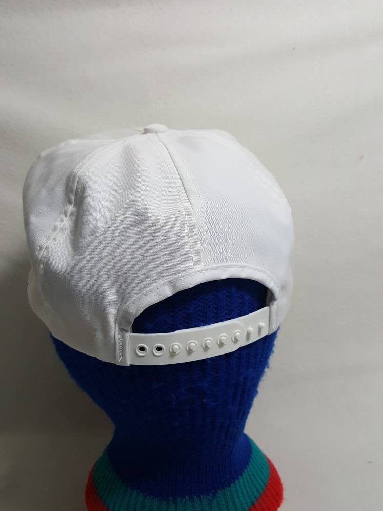Vtg Michelin Tires Racing snapback hat made in USA Swingster cap GoodYear 804c4676f502