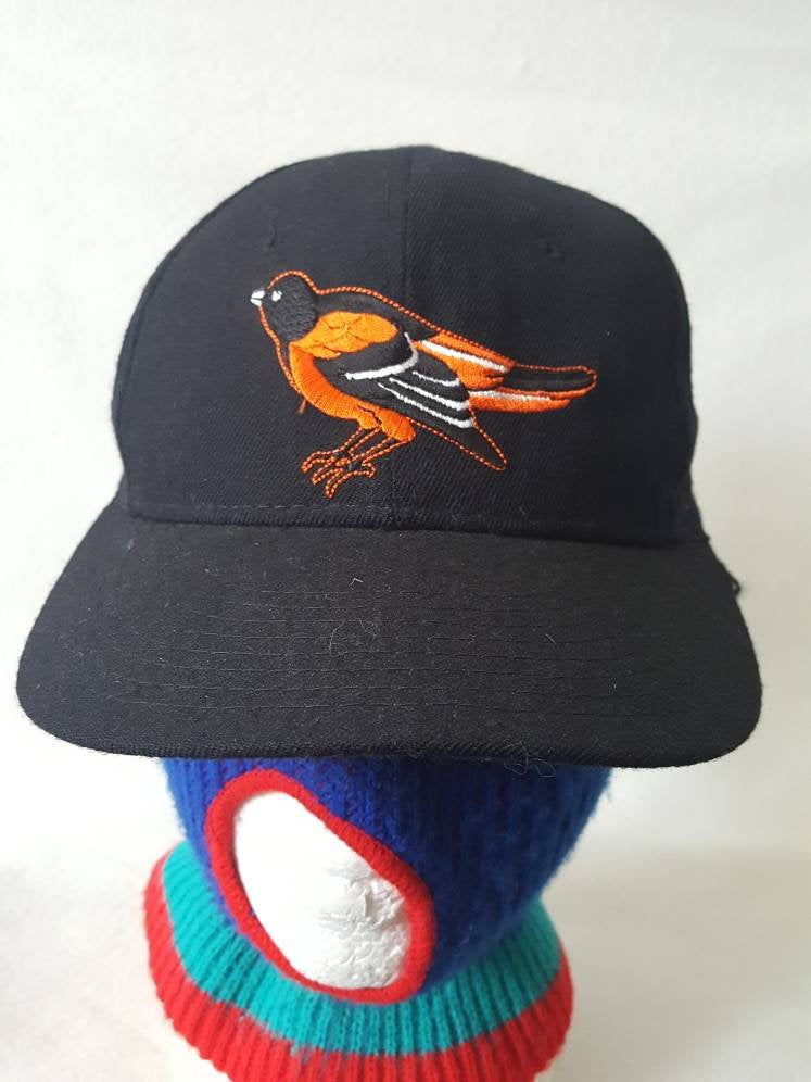 Vtg New Era Pro Model Baltimore Orioles fitted 7 1/4 made in USA