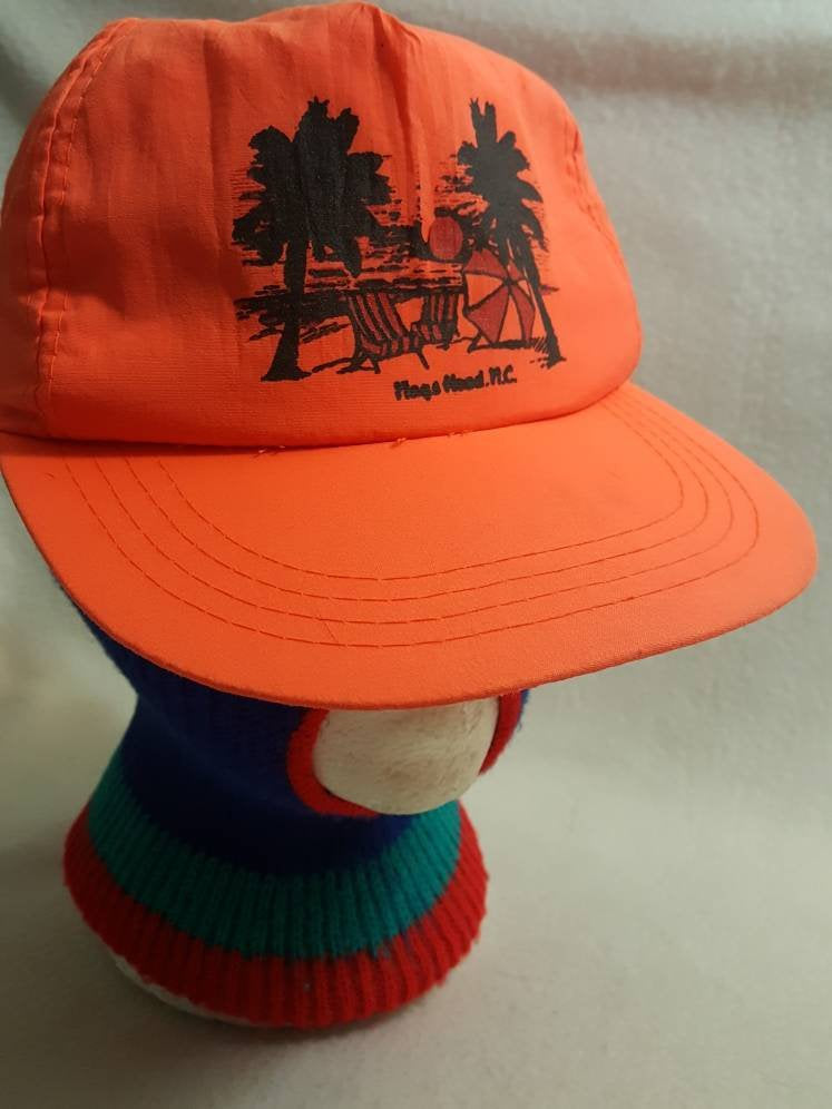 Vtg Nags Head Beach  snapback hat cap lot  sale