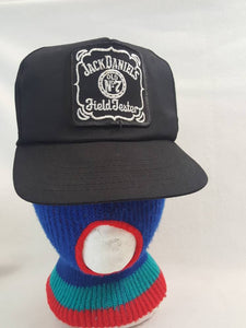 Vtg Jack Daniels Field Tester  Whiskey AJD  snapback hat cap made in USA