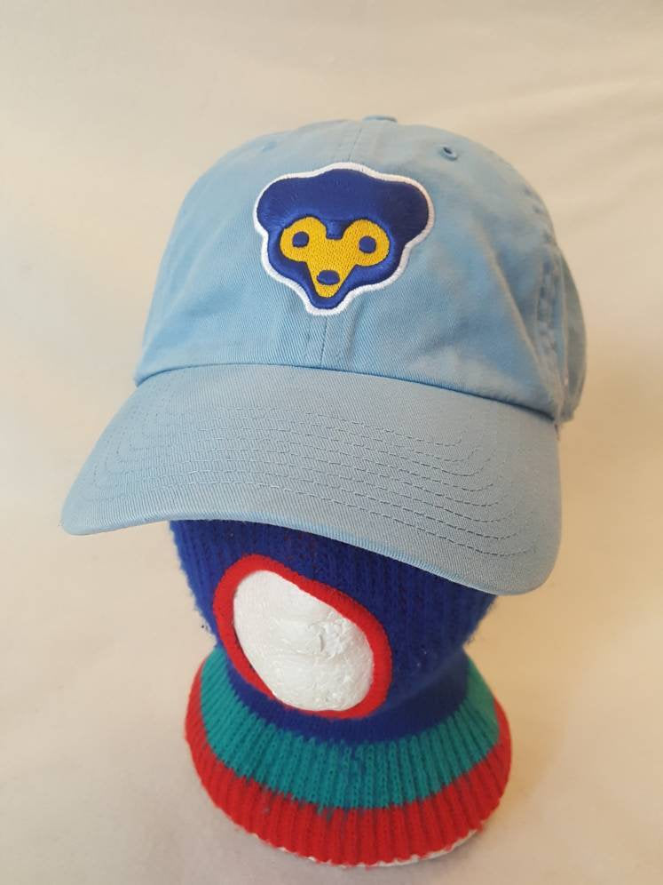 Vtg Chicago Cubs Cubbie bear  Dad hat 90s  MLB Baseball cap strap  Champions