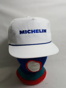 Vtg Michelin Tires Racing snapback hat made in USA Swingster cap GoodYear d9e289e9a010