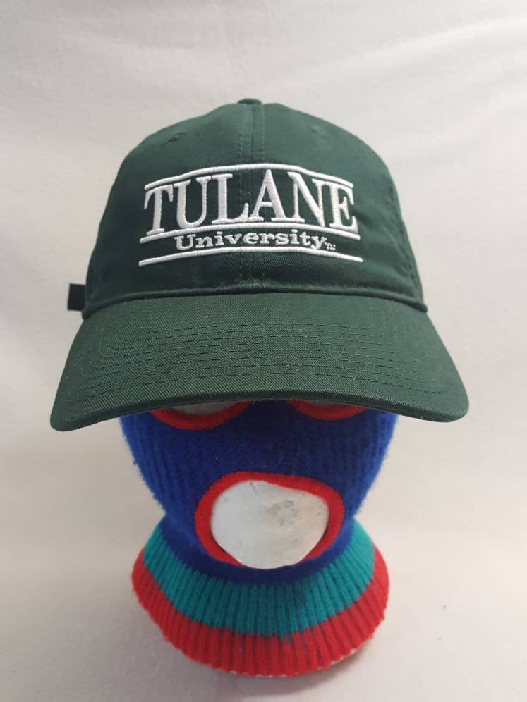 Tulane University  strapback dad hat back to school