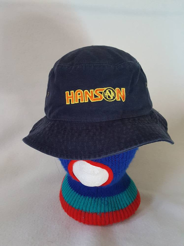 Vtg Hanson Mmmbop  bucket hat cap boy band group