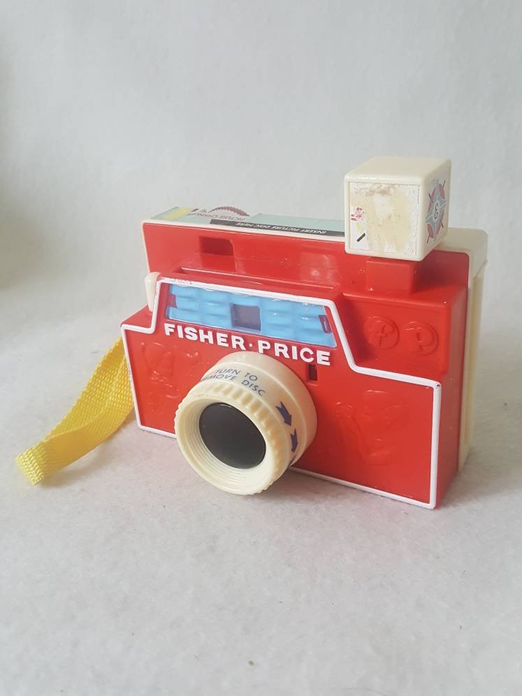 Vtg  Fisher Price Picture Story  Viewer w / disc