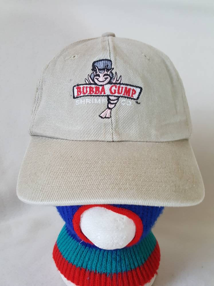 Vtg  Bubba Gump Shrimp Co. Restaurant dad hat Forrest Gump Movie Tom Hanks