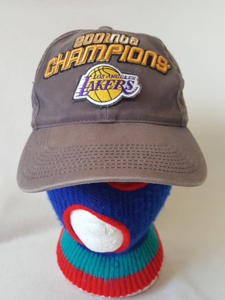 382f7025 Vtg Los Angeles Lakers Champions Dad hat sports specialties Kobe Bryant  Shaq oneal