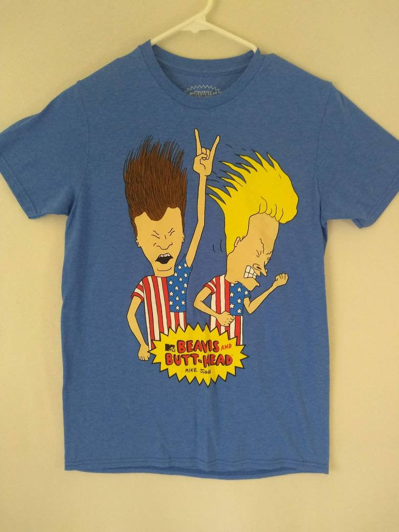 Beavis and Butthead  90s  retro T Shirt  MTV