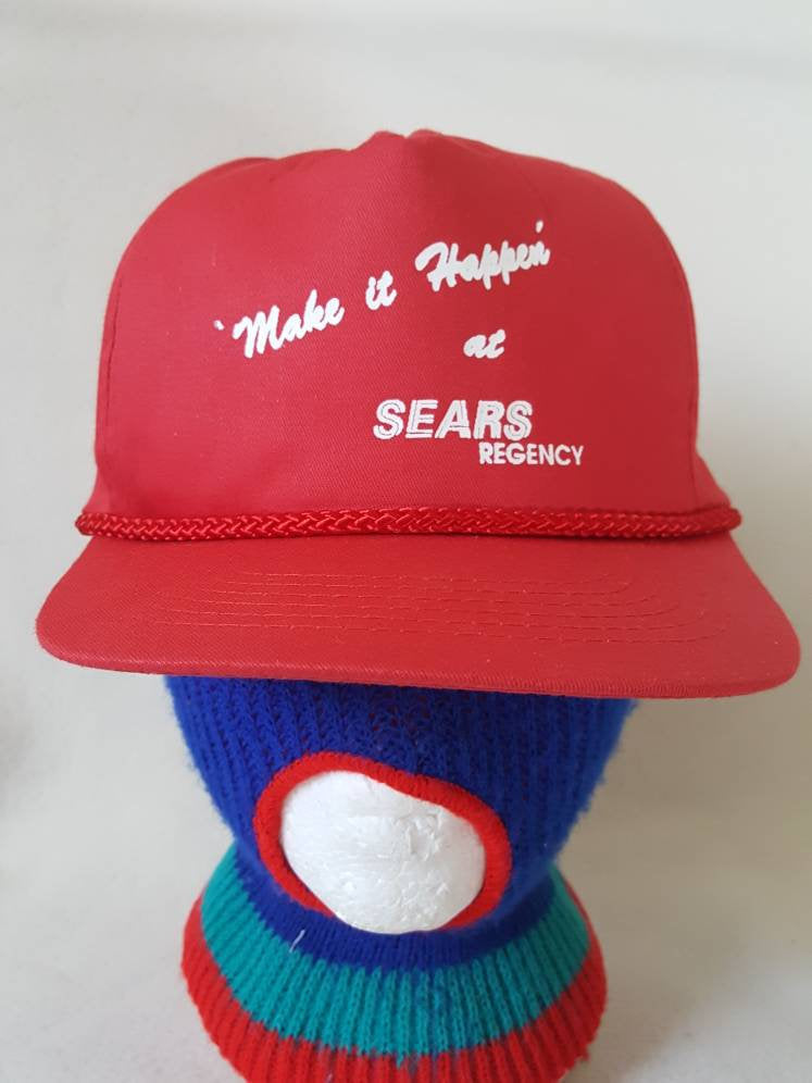 Vtg Sears Regency  Department Store snapback 90s work hat