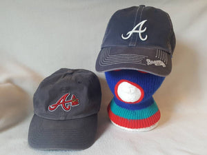 Two Atlanta Braves dad hat cap lot strapback MLB ATL bundle ... c3de73cffd2