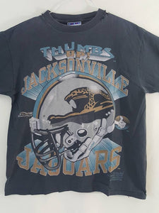 Vintage Jacksonville Jaguars thumbs up  tee shirt sz large  Made in USA