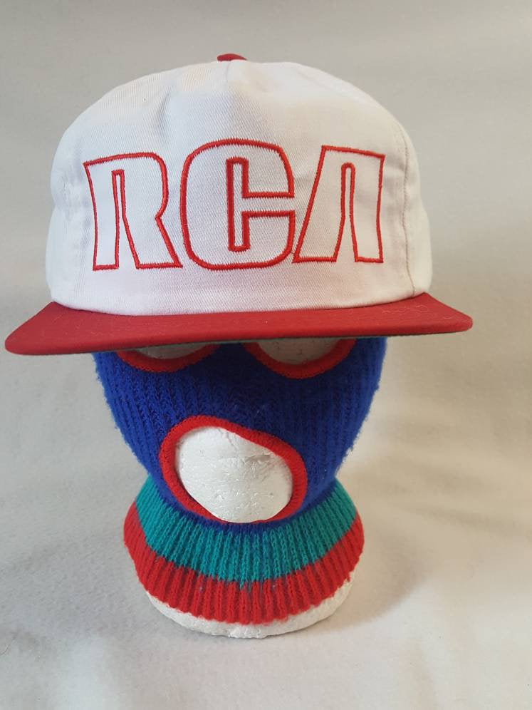 Vintage RCA Electronics 90s Technology snapback hat cap Retro Tech Sony