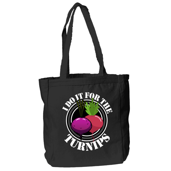 I DO IT FOR THE TURNIPS GROCERY BAG