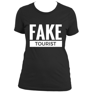 FAKE TOURIST T-SHIRT