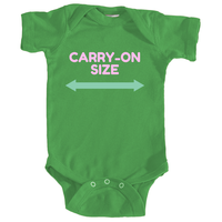 CARRY-ON ONESIE (DARK)