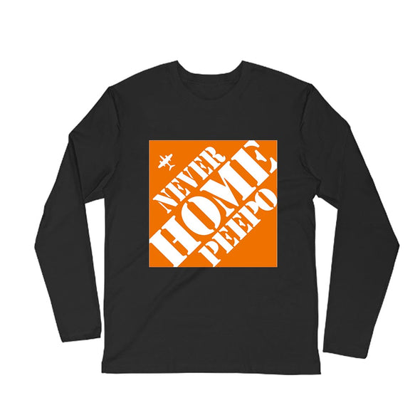 NEVER HOME PEEPO LONG SLEEVE T-SHIRT