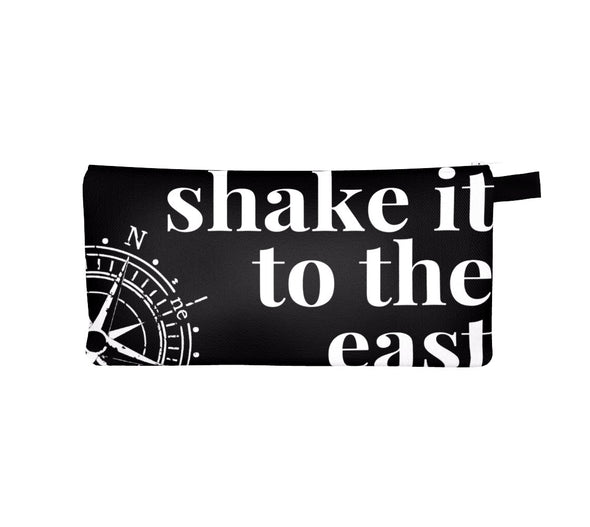 SHAKE IT TO THE EAST TRAVEL POUCH