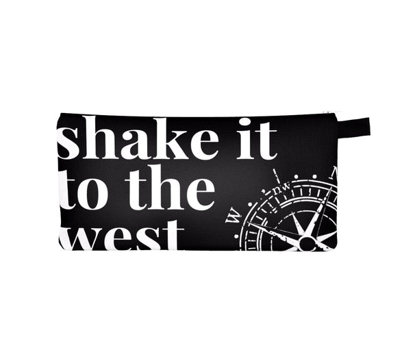 SHAKE IT TO THE WEST TRAVEL POUCH