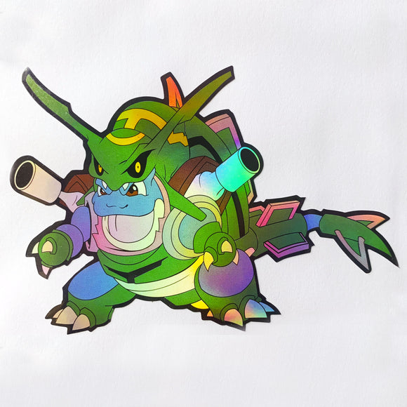 Blastquaza Sticker