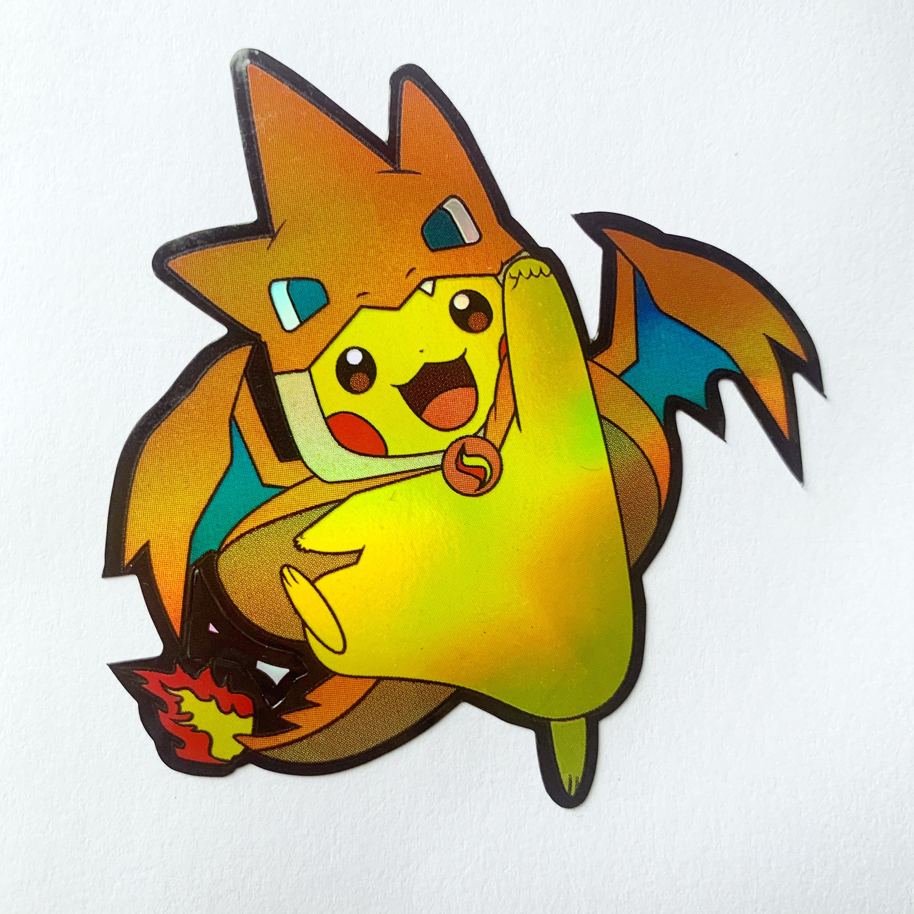 Pikazard sticker