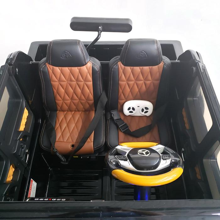 24V Mercedes Benz G650 Maybach XXL | Quad 4x4 | Built-In TV Screen | Leather Seats & Rubber Tires