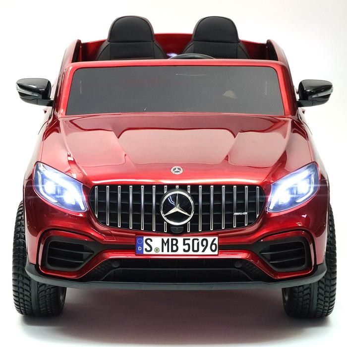 24V Mercedes Benz GLC63 | Upgraded Motors | Two Leather Seats & Rubber Tires | Remote Control